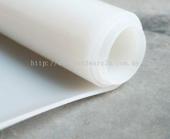 SILICON CLEAR SHEET SIZE : 3MM x 1000MM x 10MTR