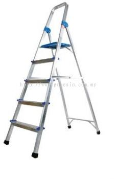 Aluminium Queen Ladder With Handrail 3 Step