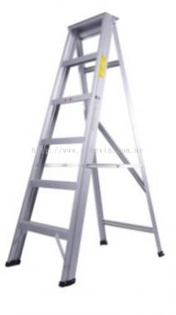 Aluminium Double Sided A Shape Step Ladder 9 Step