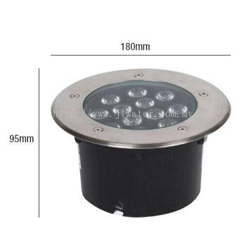 LUMO LED Underground Built in Light LUMO-UGLC12-180