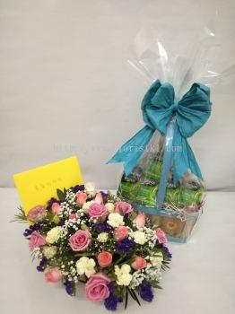 Roses Basket (FB-058)