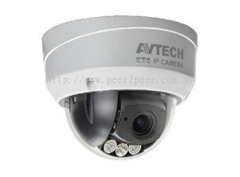 AVTECH 2MP Vari-focal WDR IR Dome IP Camera