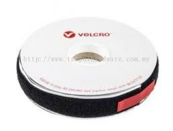 Double Sided Black Velcro Tape