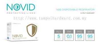 NOVID FFP2 NR 5-Ply Disposable Respirator