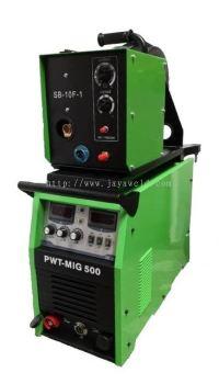 MASTERWELD PWT-MIG350/500 MIG WELDING MACHINE  C/W 9M EXTENSOIN WIRE CABLE SET (IGBT)