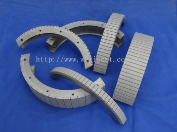 Platinum Coated Titanium Multi-Slot Anode