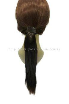 Long Straight Hair Extensions 52cm (Dark Brown)