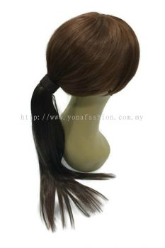 Long Straight Hair Extensions 52cm (Hazel Brown)