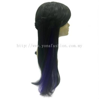 Straight Hair Extension (Blue)