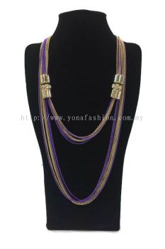 Designer Long Chain Stone (Colourful) (ST00474)