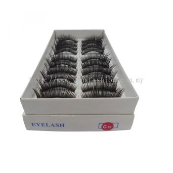 10 Pairs of Eyelashes Extension (Code C10)