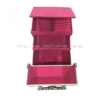 Yona Fashion Stylish Makeup Organizer (Mix)