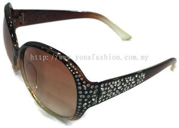 Sun Proof SunGlasses (Brown)