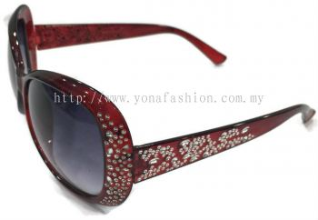 Sun Proof SunGlasses (Red)