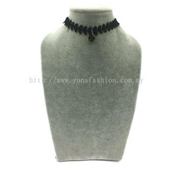 Yona Fashion Fancy Choker With Pendant(Smiley)