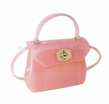 Yona Fashion Mini Jelly Bag (Peach)