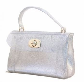 Yona Fashion Mini Jelly Bag (Silver)