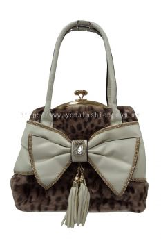 Yona Fashion PU Leather bag (Brown)