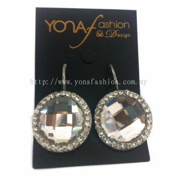 Yona Fashion Stars Stone Hoop Earring