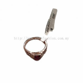 Yona Fashion Stone Ring (Magenta Colour)
