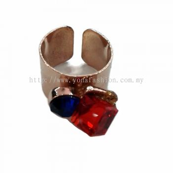 Yona Fashion 2 Stone Ring