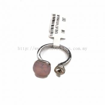 Yona Fashion Design Stone Ring ( Light Pink )