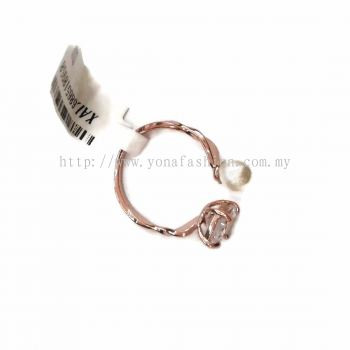 Yona Fashion Stone Ring with Small Pearl