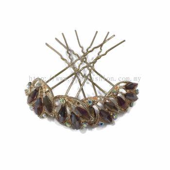 Yona Fashion 4 in 1 Hair Bun Stone Pin
