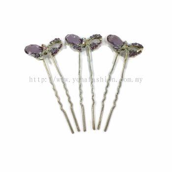 Yona Fashion 3 in 1 Hair Bun Stone Pin