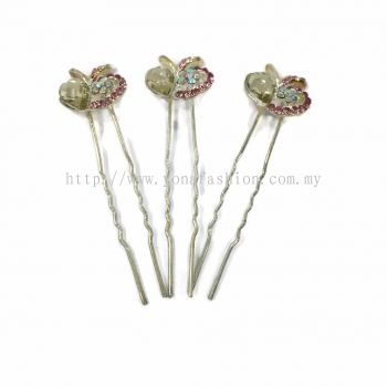 Yona Fashion 3 in 1 Hair Bun Stone Pin