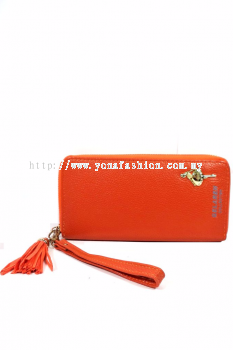 Yona Fashion Gelaren Dancing Girl Leather Purse (Orange)