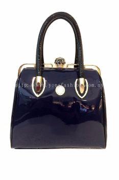 Yona Fashion Luxury Handbag (Dark Blue)