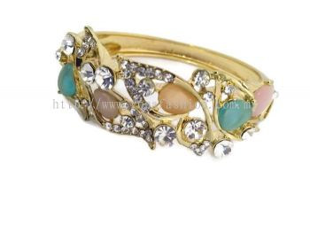 YONA FASHION STONE BANGLE (Mix Colour)