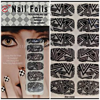GEL NAIL STICKER & NAIL FOILS