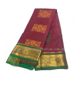 SOFT SILK SAREE ( MULTICOLOUR )