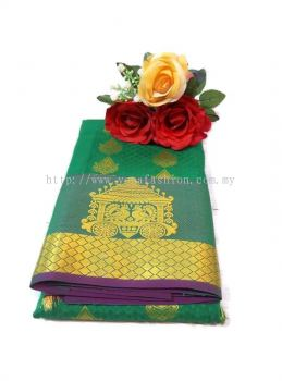 MULTI EMPOSE SILK SAREE