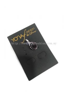 OXIDISED SILVER NOSE PIN