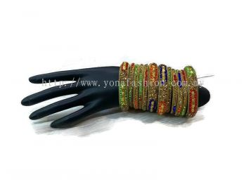DESIGNER BANGLES WITH FULL STONE