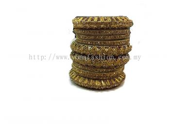 DESIGNER BANGLES WITH FULL STONES