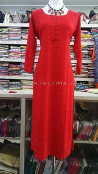 sSOFT COTTON EMBROIDED KURTI