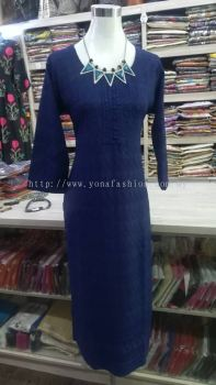 SOFT COTTON EMBROIDED KURTI