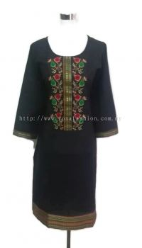 PURE COTTON EMBROIDED KURTI