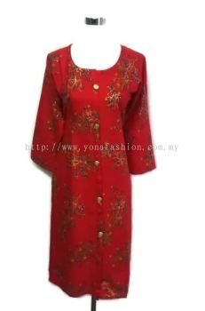 PLUS SIZE PURE COTTON EMBROIDED KURTI