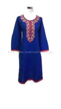 WOMEN 'S PURE COTTON EMBROIDED  KURTI TOPS