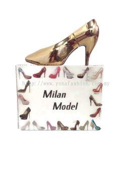 Women's New Perfume Milan Model High Heels Shape  Long Lasting Eau De Perfume 100 ml