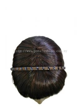 Full Crystal Shiny Clear Stone Hairband For Women's / Girl's