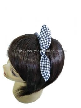 NEW TRENDY MULTICOLOUR BOW  CLOTH HAIR BAND FOR KIDS