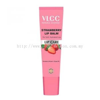 VLCC NATURE SCIENCE STAWBERRY LIP BALM AND LIP CARE FOR SOFT PINK LIPS