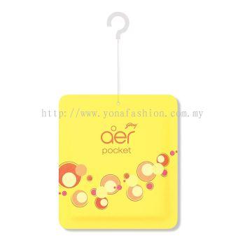 Godrej Aer Pocket Bright  Tangy Delight Air Freshener �C 10gm