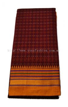SOFT SILK COTTON SEMI CHECKS SAREES